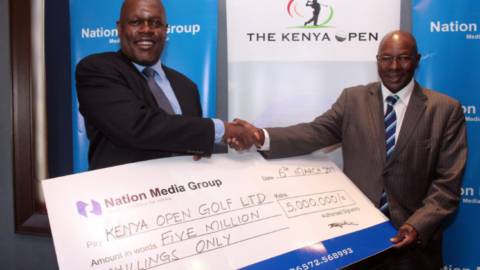 Nation pumps Sh5 million into Kenya Open Golf Championship
