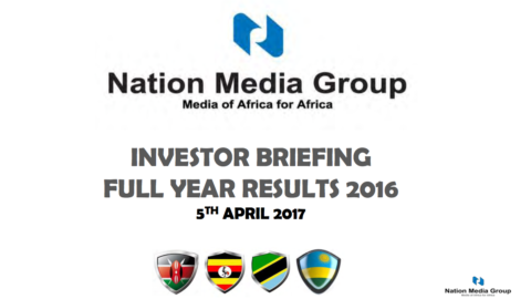 2016 Investor Briefing