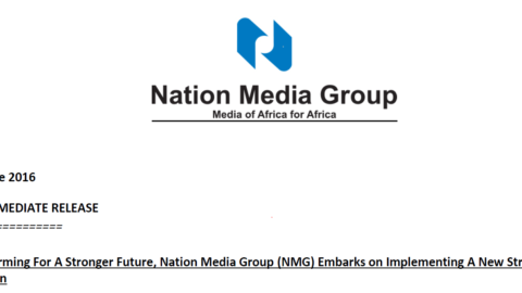 Transforming For A Stronger Future, NMG Embarks on Implementing A New Strategic Direction