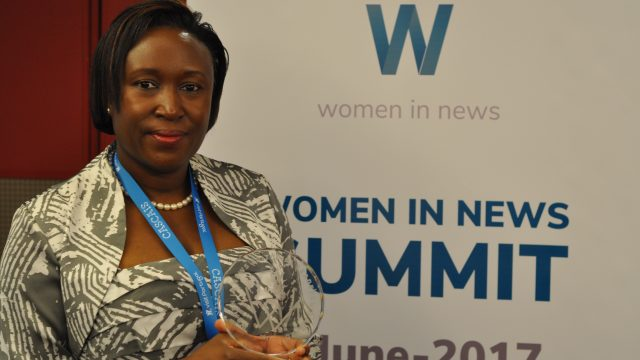 Nation editor honoured as exemplary leader in Africa