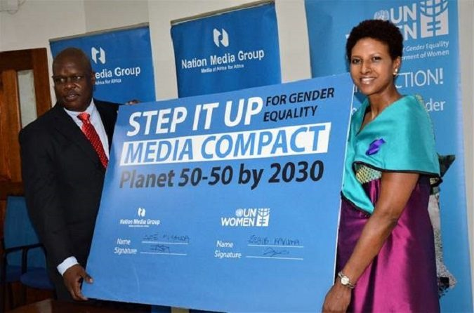 Nation Media Group Joins UN Women's Global Media Compact