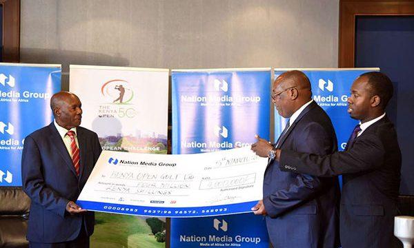 Nation pumps Sh4 million into Kenya Open