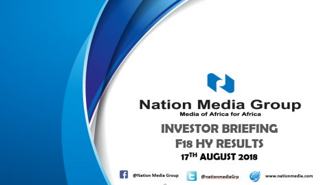 investor updates the nation media group