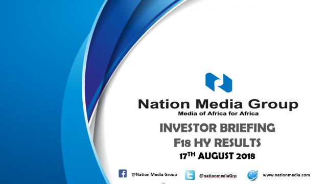 H1 2018 Investor Briefing