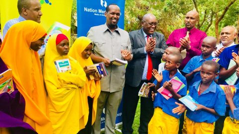 NMG partners with Mandera county government to support education projects