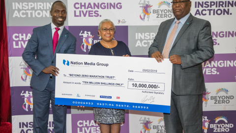Beyond Zero race gets Sh10 million from NMG