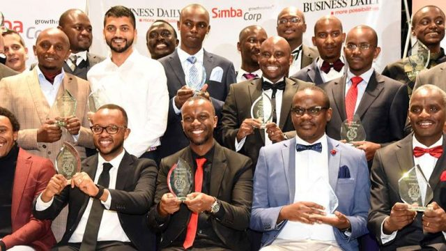 NMG fetes Top 40 Under 40 men winners