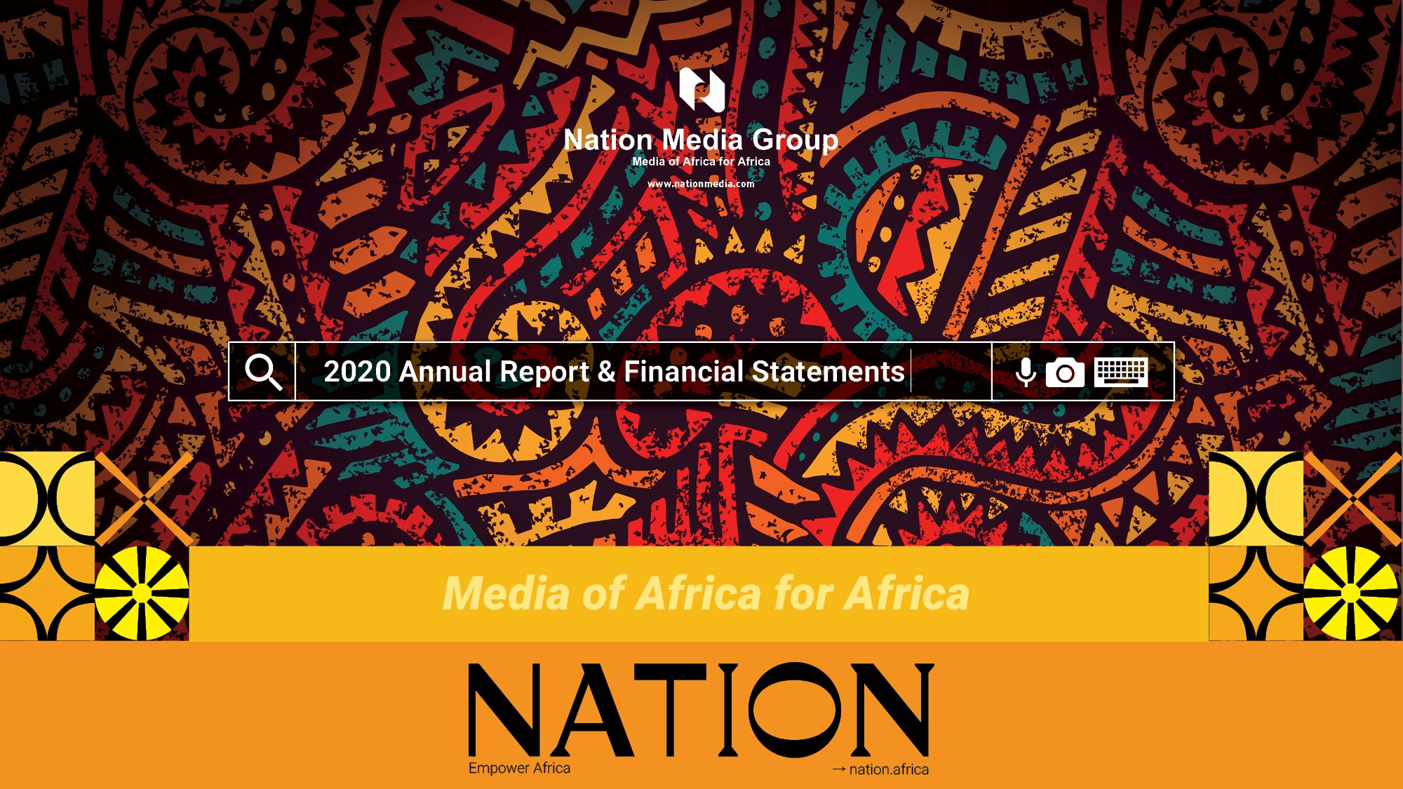 NMG 2020 Annual Report and Financial Statements